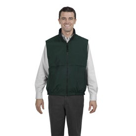 Company Port Authority Reversible Terra-Tek Nylon and Fleece Vest