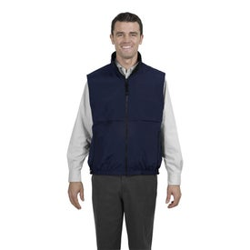 Port Authority Reversible Terra-Tek Nylon and Fleece Vest with Your Logo