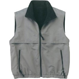 Port Authority Reversible Terra-Tek Nylon and Fleece Vest