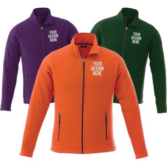 01fa6d5523e Promotional Men s Rixford Polyfleece Jacket by TRIMARKs with Custom ...