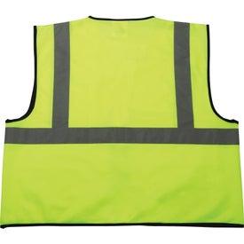 Imprinted Safety Works Hi-Viz Lime Green Class 2 Safety Vest