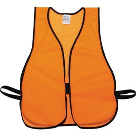 Customized Safety Works High Visibility Safety Vest