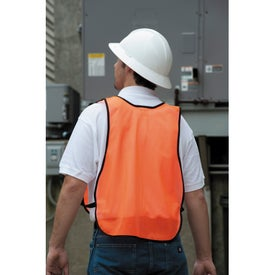 Safety Works High Visibility Safety Vest for Customization