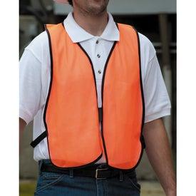 Monogrammed Safety Works High Visibility Safety Vest