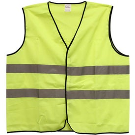 Safety Vest with Hook and Loop Front Closure for Your Organization