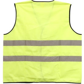 Safety Vest with Hook and Loop Front Closure with Your Logo