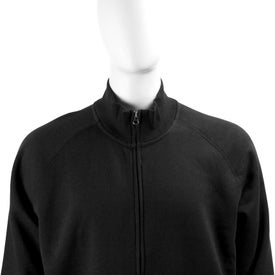Monogrammed Silas Fleece Full Zip Jacket by TRIMARK