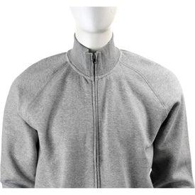 Monogrammed Silas Fleece Full Zip Jacket by TRIMARK