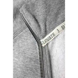 Logo Silas Fleece Full Zip Jacket by TRIMARK