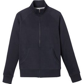 Silas Fleece Full Zip Jacket by TRIMARK Branded with Your Logo