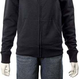 Printed Silas Fleece Full Zip Jacket by TRIMARK