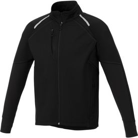 Printed Stika Hybrid Softshell Jacket by TRIMARK