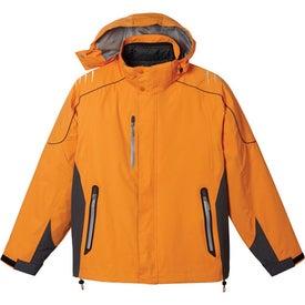 Monogrammed Teton 3-In-1 Jacket by TRIMARK