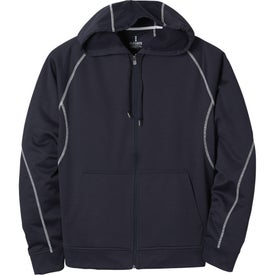 Monogrammed Tonle Full Zip Hoody by TRIMARK