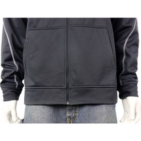 Tonle Full Zip Hoody by TRIMARK Branded with Your Logo