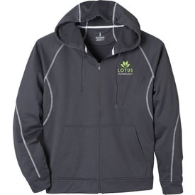 Tonle Full Zip Hoody by TRIMARK Imprinted with Your Logo