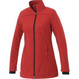 Imprinted Vernon Softshell Jacket by TRIMARK