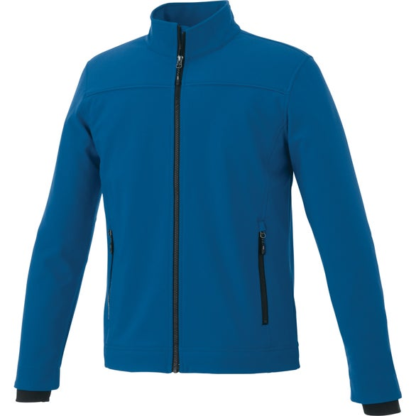 Metro Blue Vernon Softshell Jacket by TRIMARK
