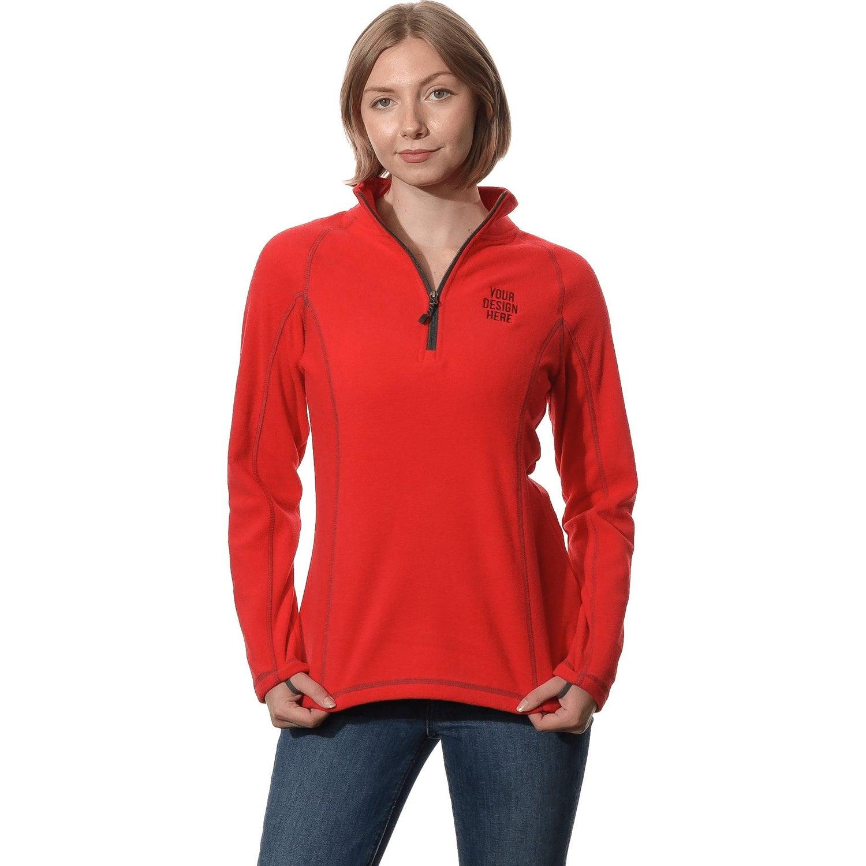Bowlen Polyfleece Half Zip Pullover by TRIMARK (Women's)