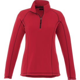 Bowlen Polyfleece Half Zip Pullovers by TRIMARK (Women''s)