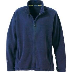 Logo Gambela Microfleece Full Zip Jacket by TRIMARK
