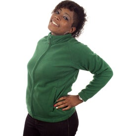 Gambela Microfleece Full Zip Jacket by TRIMARK (Women's)