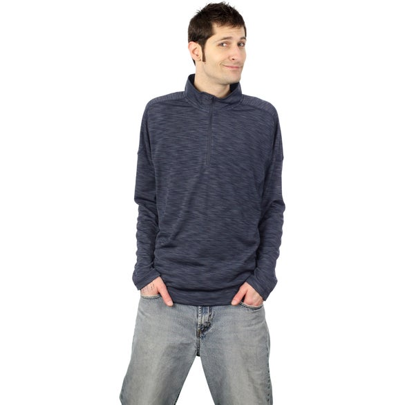 Yerba Knit Quarter Zip Pullover by TRIMARK