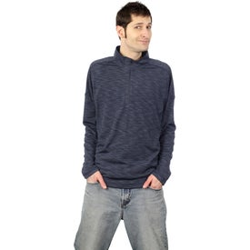 Yerba Knit Quarter Zip Pullover by TRIMARK for Advertising