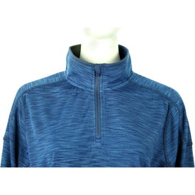 Yerba Knit Quarter Zip Pullover by TRIMARK Imprinted with Your Logo