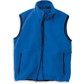 Printed Port Authority Youth R-Tek Fleece Vest