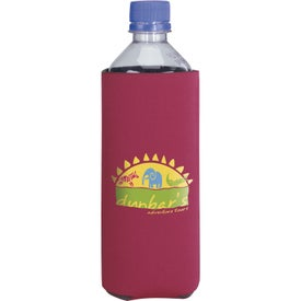 Basic Collapsible Koozie Bottled Water Kooler Imprinted with Your Logo