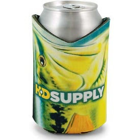 Bass Coolie Can Holder (Full Color)