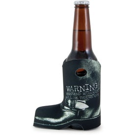 Boot Coolie with Your Slogan