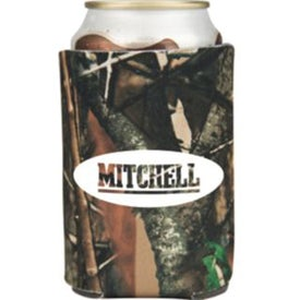 Camouflage Collapsible Foam Can Holder