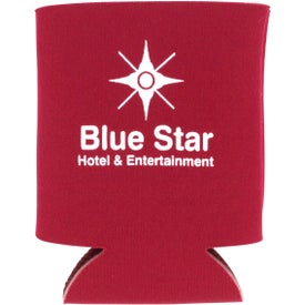 Collapsible Koozie Can Cooler with Your Slogan