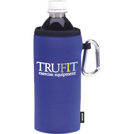 Collapsible Koozie Bottle Kooler Branded with Your Logo