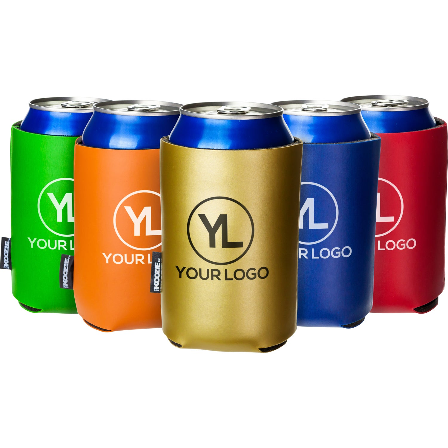 promotional deluxe collapsible koozie can coolers with custom logo