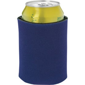 Imprinted Dual Color Koozie Can Kooler