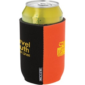 Customized Dual Color Koozie Can Kooler