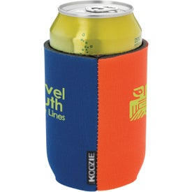 Printed Dual Color Koozie Can Kooler
