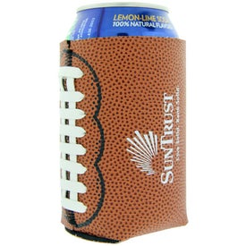 Football Can Cooler for Promotion