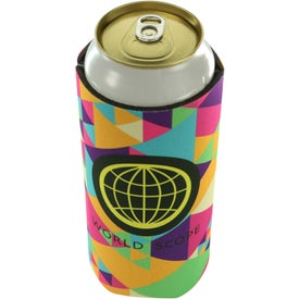 Full Color Tall Boy Coolie (24 Oz.)