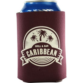 Kan-Tastic Can Cooler with 3 Imprint Locations for Promotion
