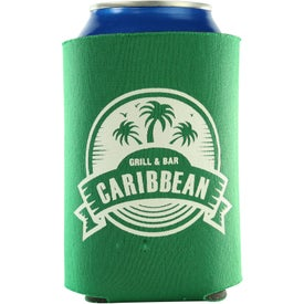 Monogrammed Kan-Tastic Can Cooler with 3 Imprint Locations