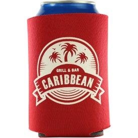 Promotional Kan-Tastic Can Cooler with 3 Imprint Locations