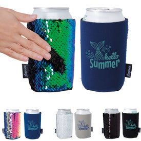 Koozie Sequin Can Koolers