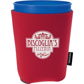 Logo Life's a Party Koozie Cup Kooler