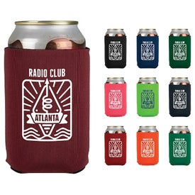 "Neoprene Can Holder (4"", Screen Print, 1 Location)"