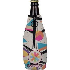Neoprene Zippered Bottle Holder