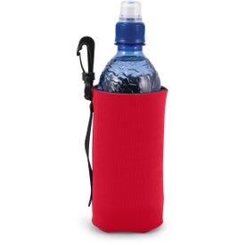 Monogrammed Scuba Bottle Bag with Clip